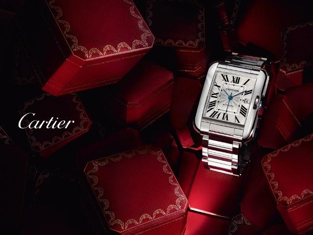 Часы Cartier- изящные модели